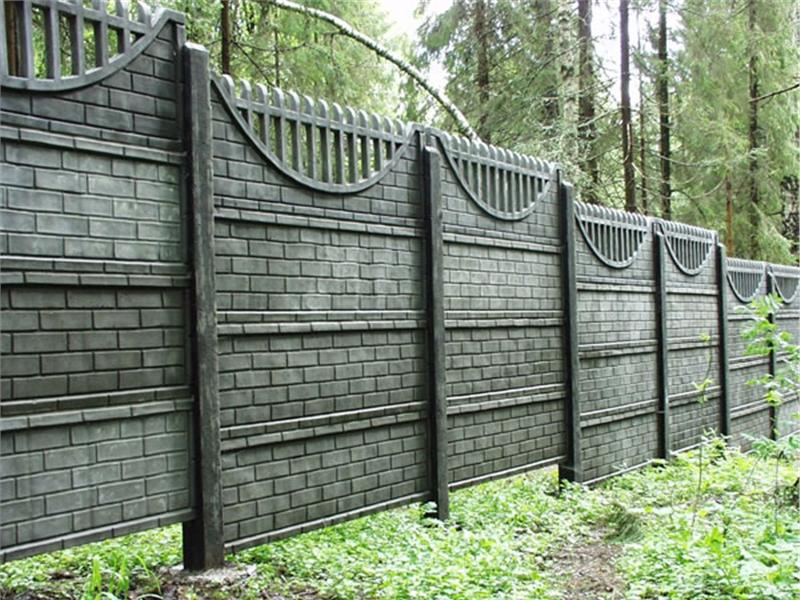Купить забор из бетона в петербурге краску для бетона купить в москве