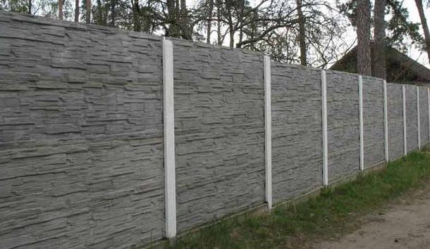 Купить забор из бетона в петербурге разведение цементного раствора