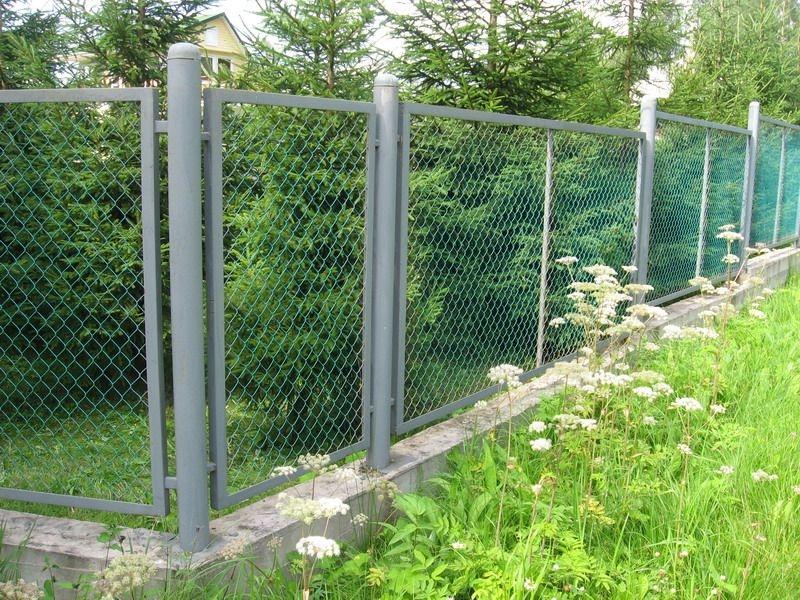 Секційний паркан
